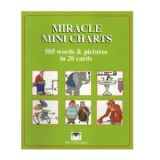 Miracle Mini Charts 505 Words Pictures in 20 Cads Yeşil
