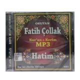 Fatih Çollak Kur'an-I Kerim Mp3 Hatim MP3 CD