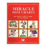 Miracle Mini Charts Verbs (400 Most Used Verbs In 20 Cards)